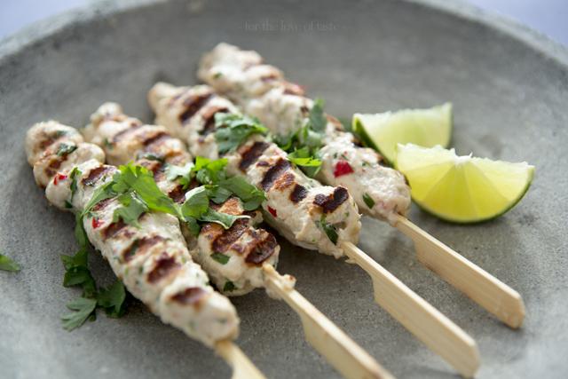 Coco Chicken satay - sugar free - lactose free - glutenfree